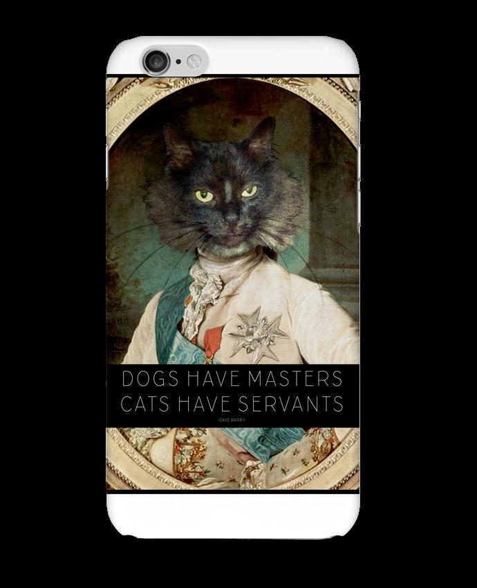 Coque 3D Iphone 6 King Cat par Tchernobayle