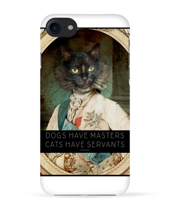 Coque 3D Iphone 7 King Cat de Tchernobayle