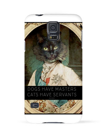 Coque 3D Samsung Galaxy S5 King Cat par Tchernobayle