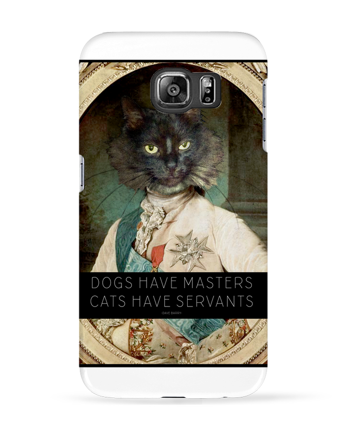 Coque 3D Samsung Galaxy S6 King Cat - Tchernobayle