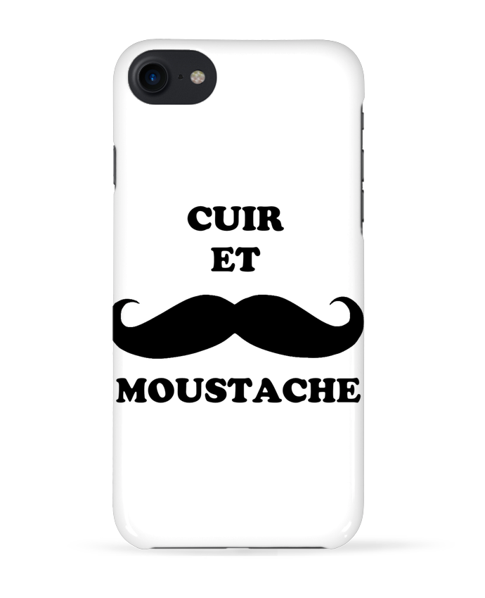 coque 3d iphone 7 cuir et moustache lupercal tunetoo. Black Bedroom Furniture Sets. Home Design Ideas