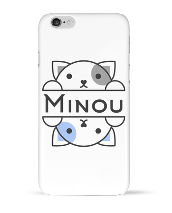 Coque 3D Iphone 6 Minou par Minou