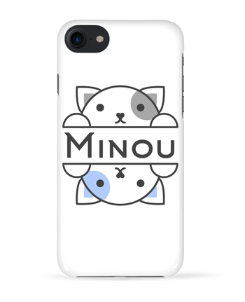 Coque 3D Iphone 7 Minou de Minou