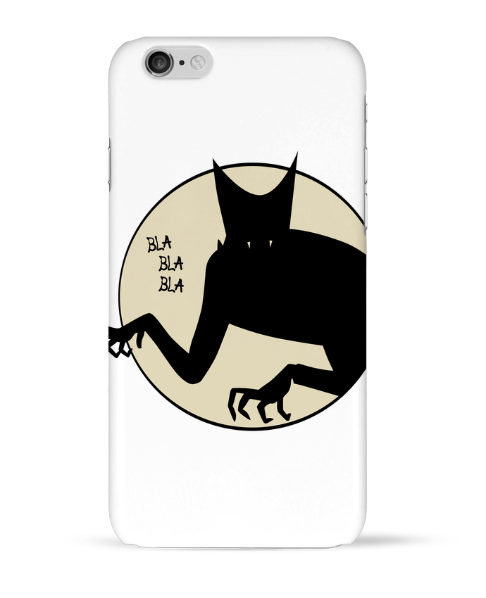 Coque 3D Iphone 6 BLA BLA BLA par teeshirt-design.com