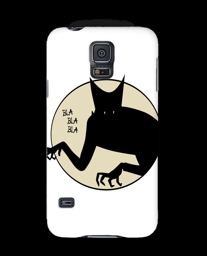 Coque 3D Samsung Galaxy S5 BLA BLA BLA par teeshirt-design.com
