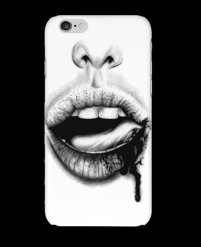 Coque 3D Iphone 6 BAISER VIOLENT par teeshirt-design.com