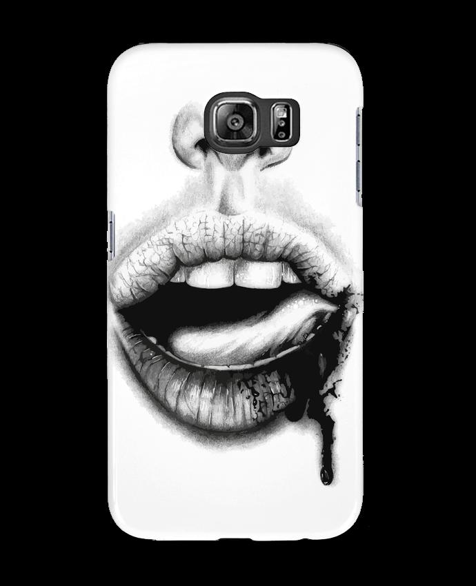 Coque 3D Samsung Galaxy S6 BAISER VIOLENT - teeshirt-design.com