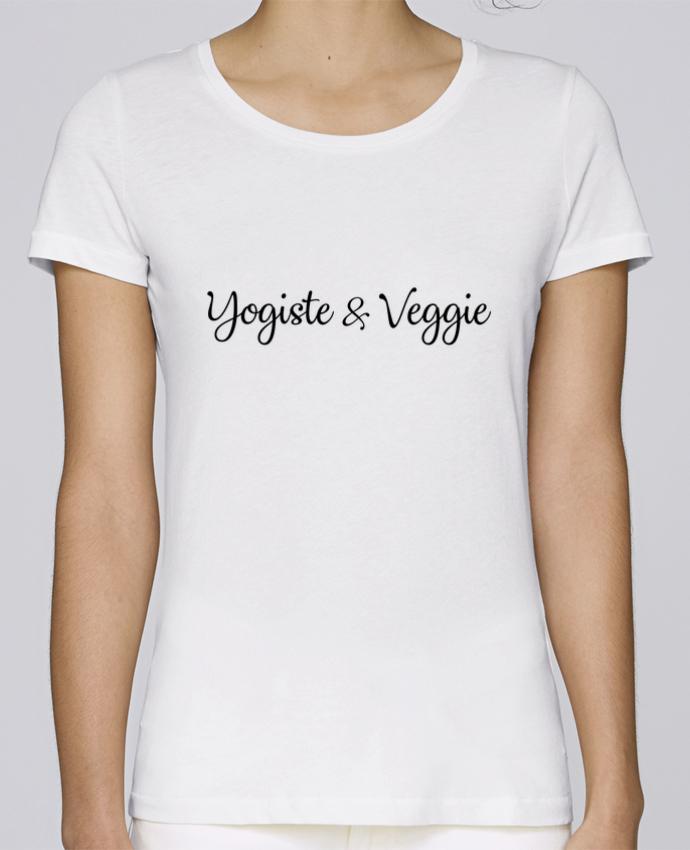 T-shirt Femme Stella Loves Yogiste et veggie par Nana