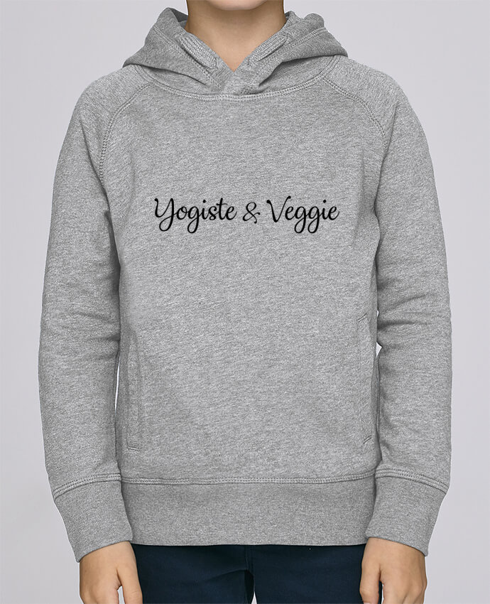Sweat à Capuche Enfant Stanley Mini Base Yogiste et veggie par Nana