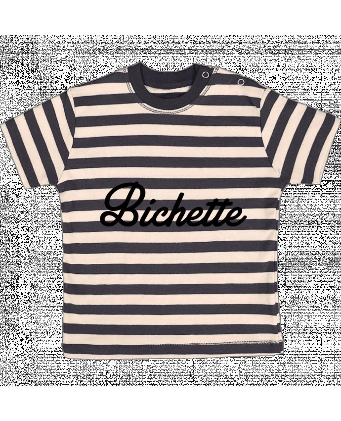 T-shirt Bébé à Rayures Bichette par Nana