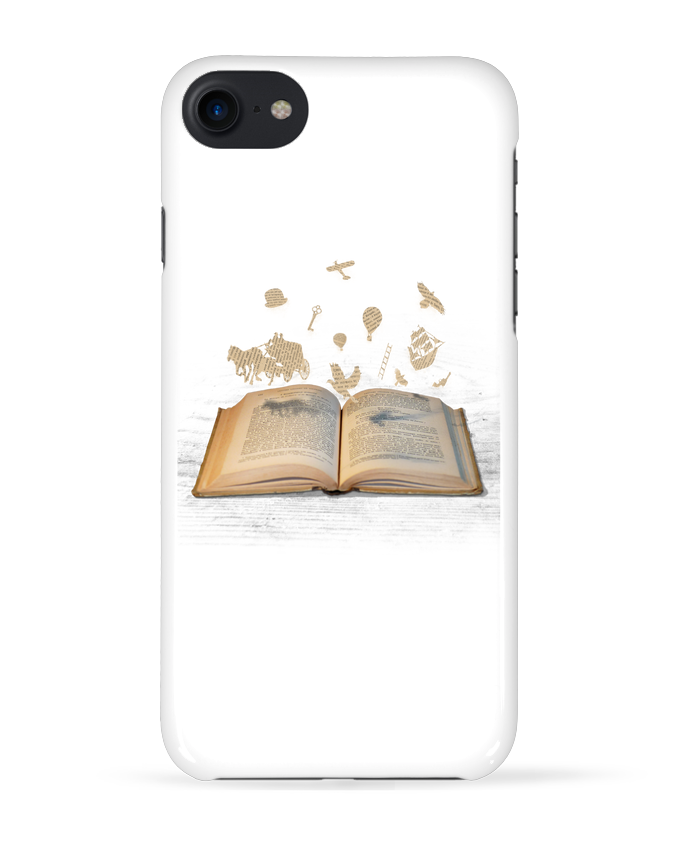 Coque 3D Iphone 7 Words take flight de Florent Bodart