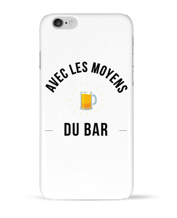 Coque 3D Iphone 6 Avec les moyens du bar par Ruuud