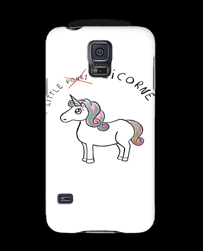 Coque 3D Samsung Galaxy S5 Licorne par Sacha