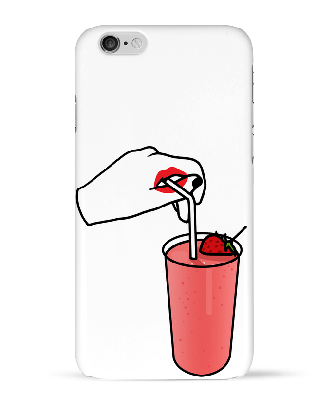 Coque 3D Iphone 6 Milk shake par tattooanshort