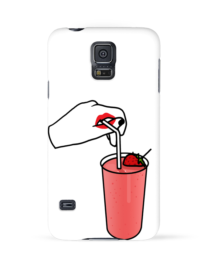 Coque 3D Samsung Galaxy S5 Milk shake par tattooanshort