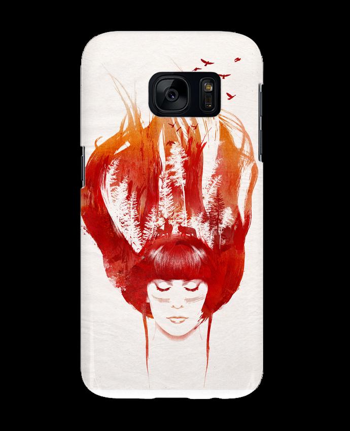 Coque 3D Samsung Galaxy S7 Burning forest par robertfarkas
