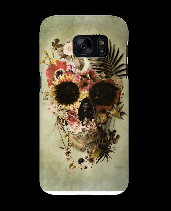 Coque 3D Samsung Galaxy S7 Garden Skull par ali_gulec