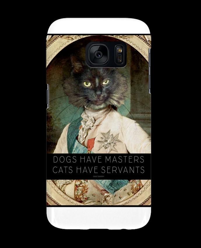 Coque 3D Samsung Galaxy S7 King Cat par Tchernobayle
