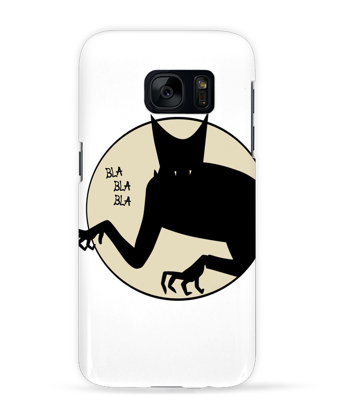 Coque 3D Samsung Galaxy S7 BLA BLA BLA par teeshirt-design.com