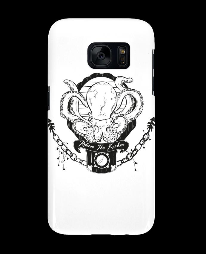 Coque 3D Samsung Galaxy S7 Release The Kraken par Tchernobayle