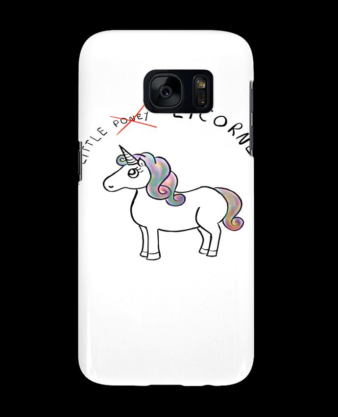 Coque 3D Samsung Galaxy S7 Licorne par Sacha