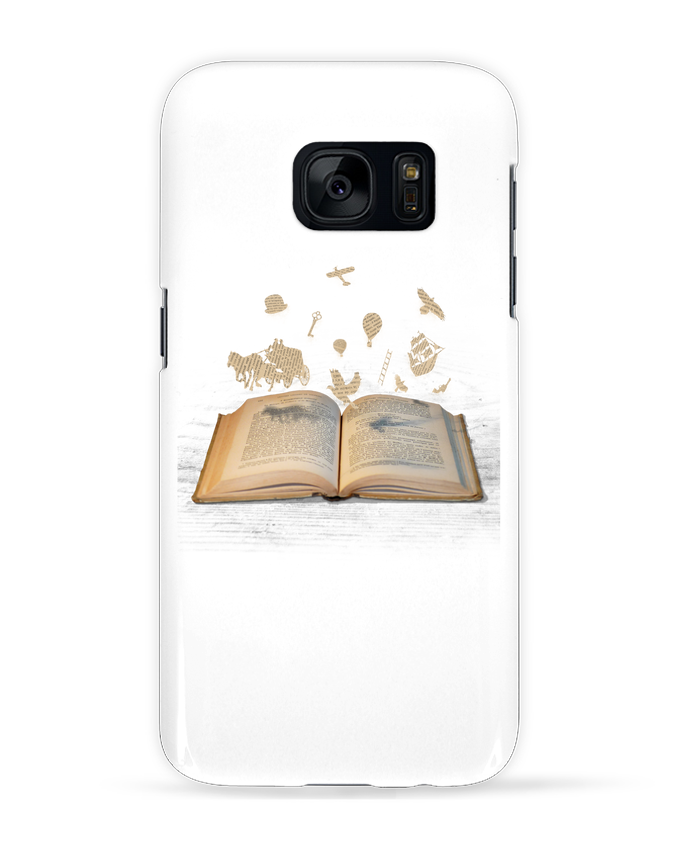 Coque 3D Samsung Galaxy S7 Words take flight par Florent Bodart
