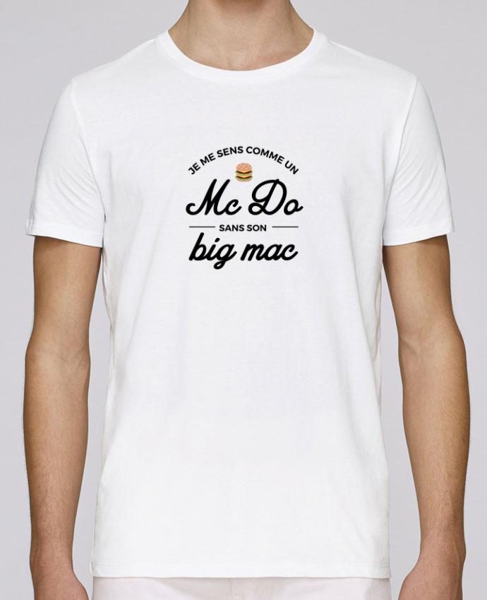 T-Shirt Col Rond Stanley Leads Comme un Mc Do sans son big Mac par Nana