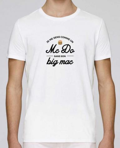 T-Shirt Col Rond Stanley Leads Comme un Mc Do sans son big Mac par Nana