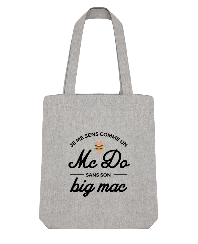 Tote Bag Stanley Stella Comme un Mc Do sans son big Mac par Nana
