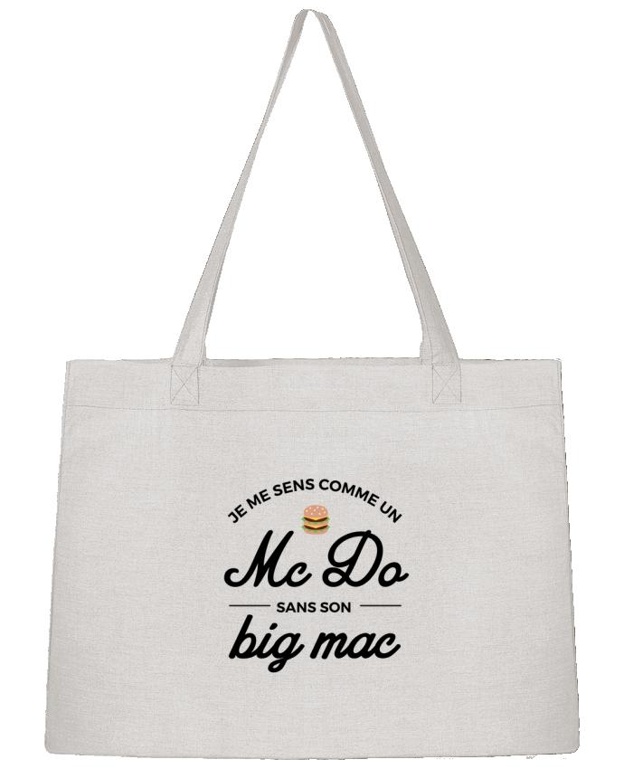 Sac Cabas Shopping Stanley Stella Comme un Mc Do sans son big Mac par Nana