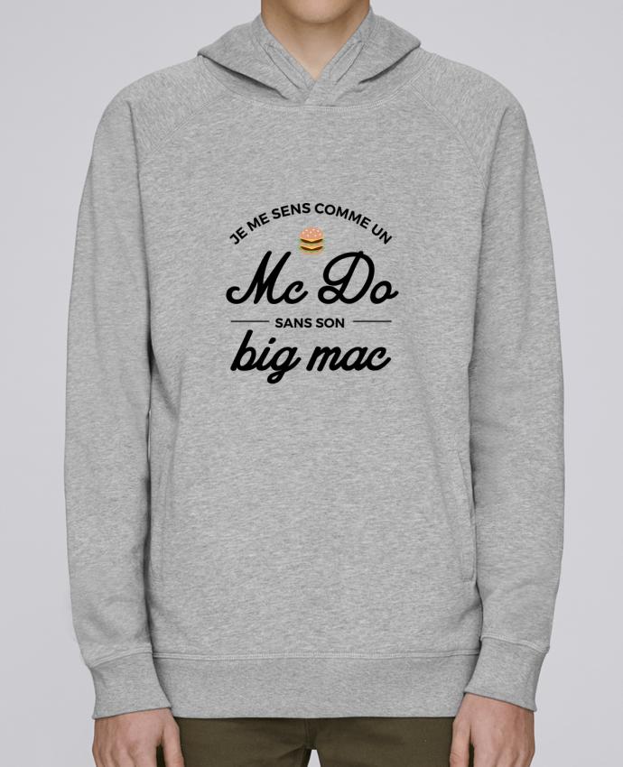 Sweat Capuche Homme Stanley Base Comme un Mc Do sans son big Mac par Nana