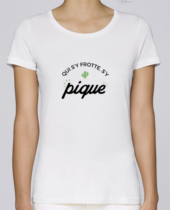 T-shirt Femme Stella Loves Qui s'y frotte d'y pique par Nana