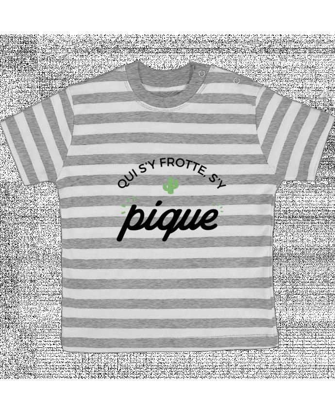 T-shirt Bébé à Rayures Qui s'y frotte d'y pique par Nana