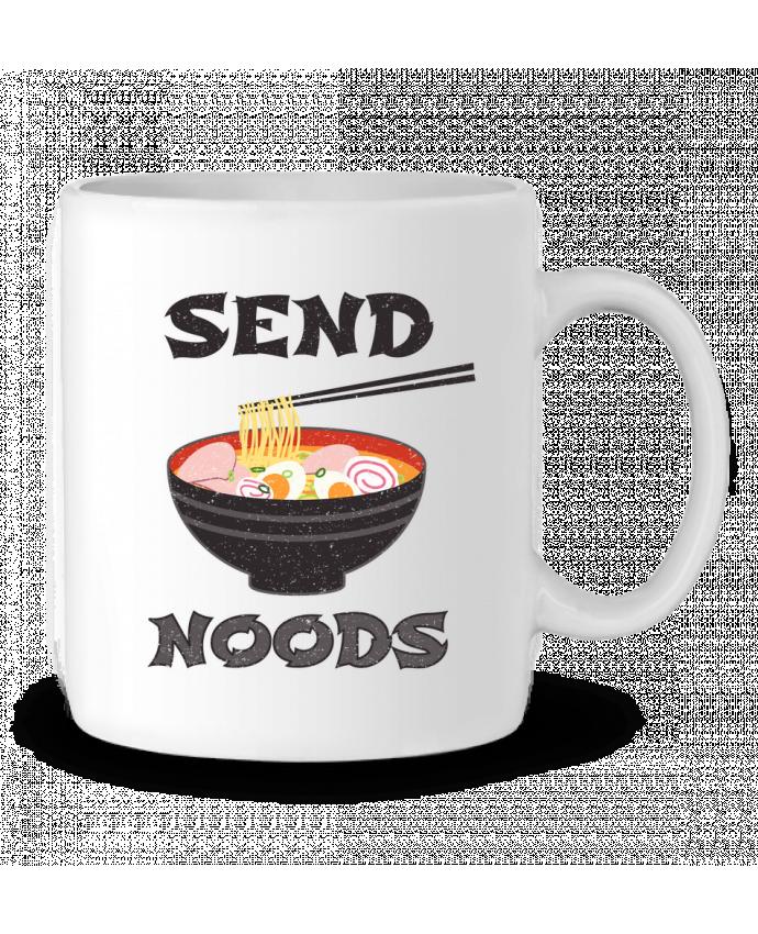Mug en Céramique Send noods par tunetoo