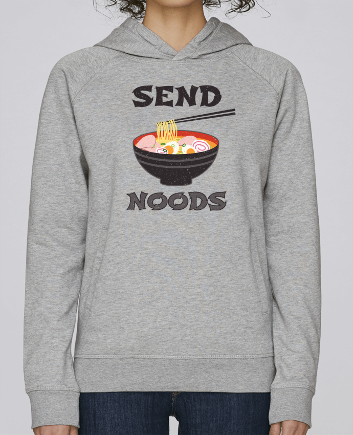 Sweat Capuche Femme Stanley Base Send noods par tunetoo