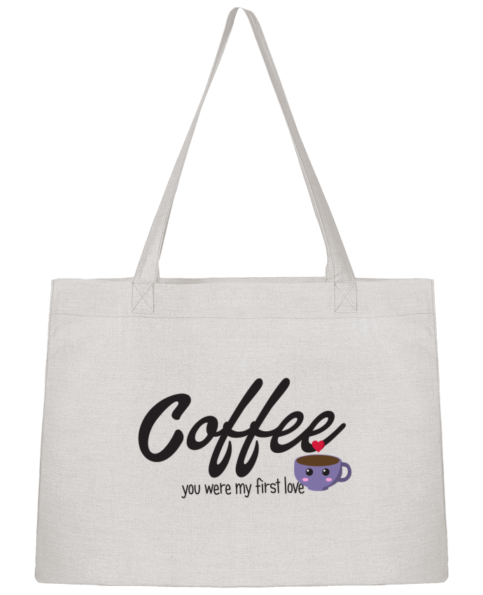 Sac Cabas Shopping Stanley Stella Coffee you were my first love par tunetoo