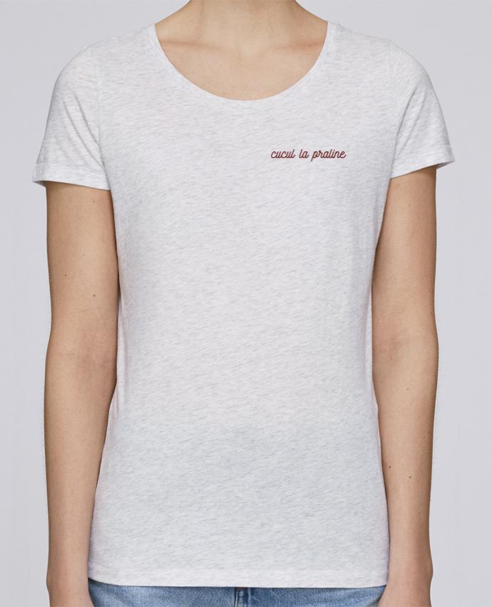 T-shirt  Femme Brodé Cucul la praline par tunetoo