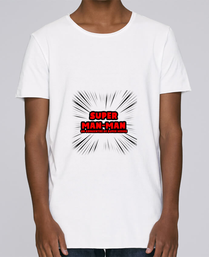 T-shirt Homme Oversized Stanley Skates Super Man-Man par lip