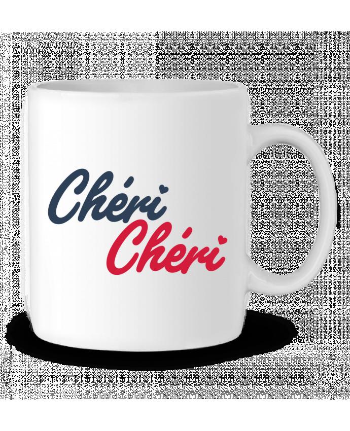 Mug en Céramique Chéri Chéri par tunetoo