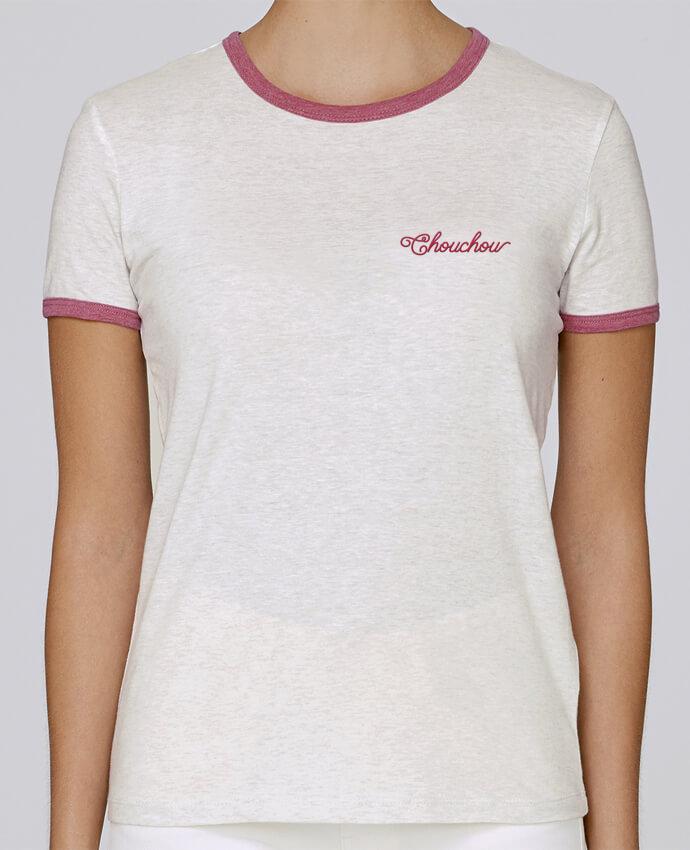T-shirt Femme Stella Returns femme brodé Chouchou par tunetoo