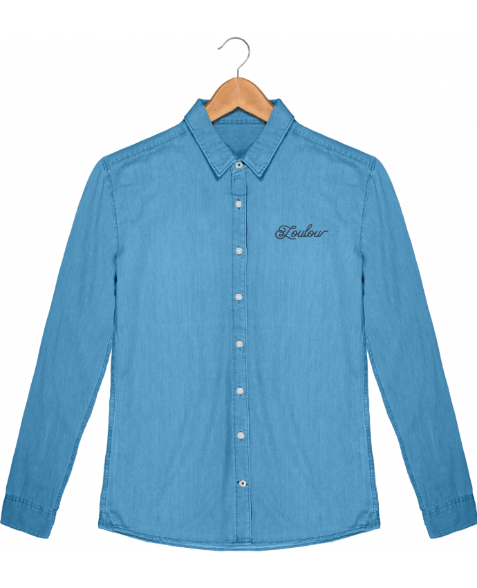 Chemise Homme Stanley Innovates Denim Loulou par tunetoo