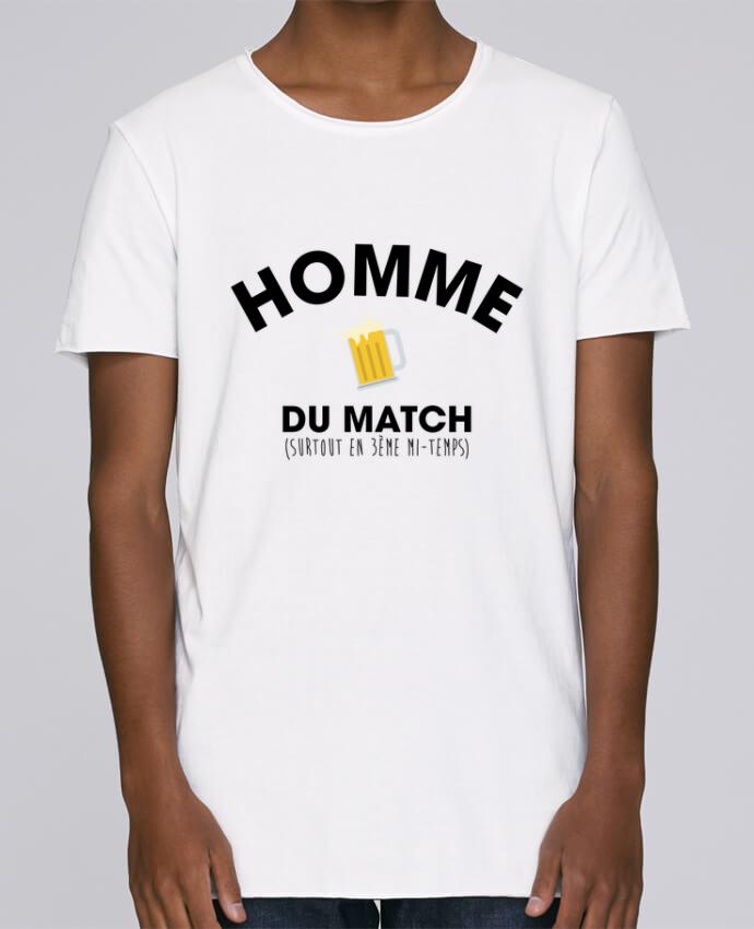 T-shirt Homme Oversized Stanley Skates Homme du match - Bière par tunetoo