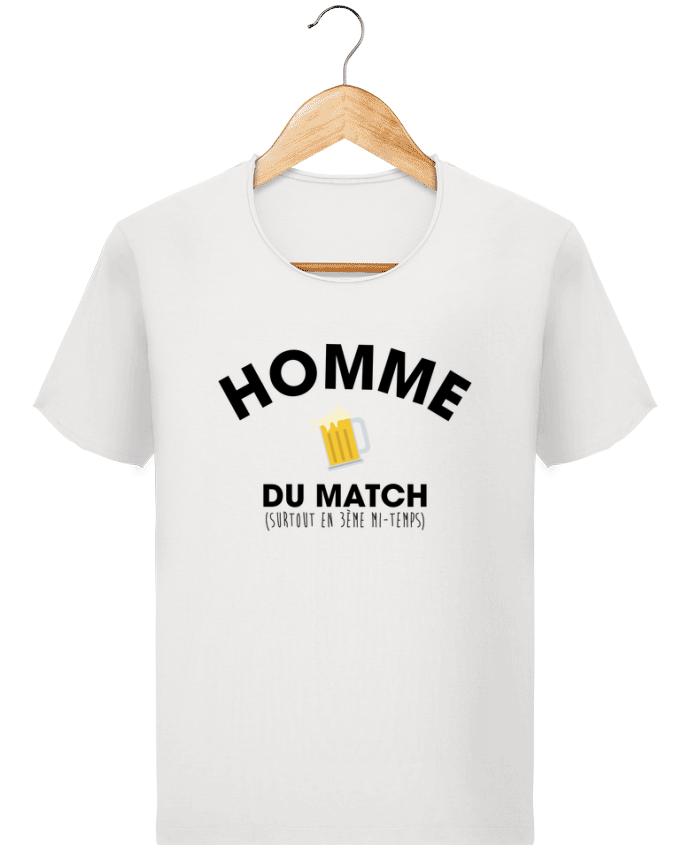 T-shirt Homme Stanley Imagines Vintage Homme du match - Bière par tunetoo