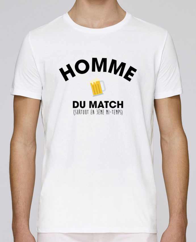 T-Shirt Col Rond Stanley Leads Homme du match - Bière par tunetoo
