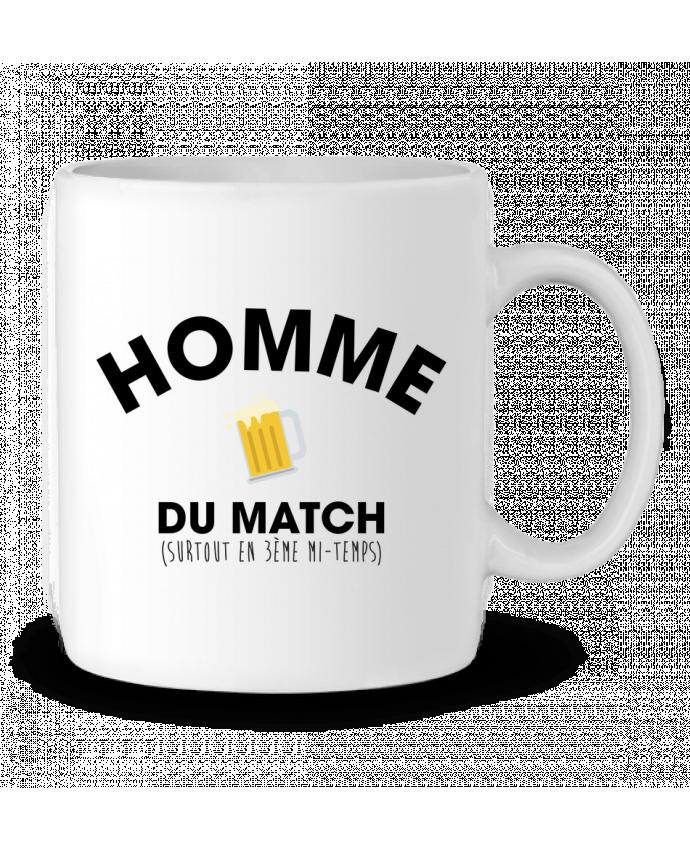 Mug en Céramique Homme du match - Bière par tunetoo