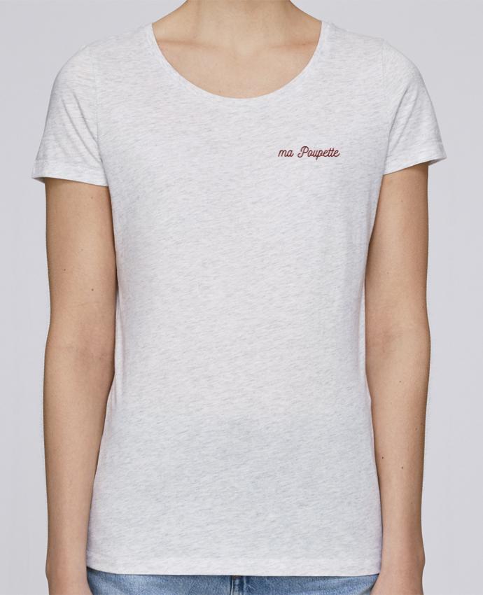 T-shirt  Femme Brodé Ma poupette par tunetoo