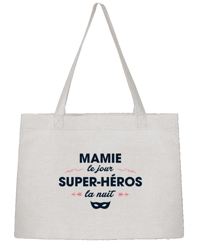 Sac Cabas Shopping Stanley Stella Mamie le jour, super-héros la nuit par tunetoo