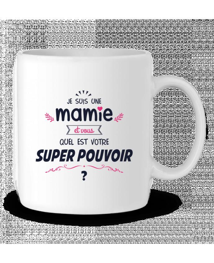 Mug en Céramique Mamie et vous, quel est votre super-pouvoir ? par tunetoo