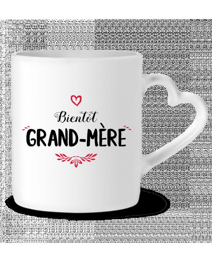 Mug Coeur Bientôt grand-mère par tunetoo