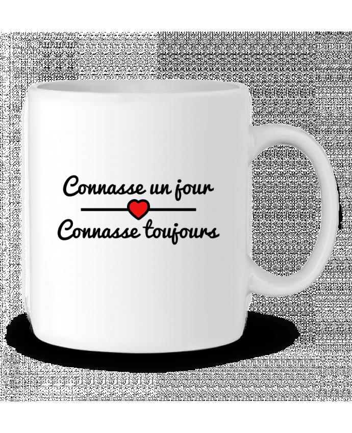 Mug en Céramique Connasse un jour, connasse toujours par Benichan